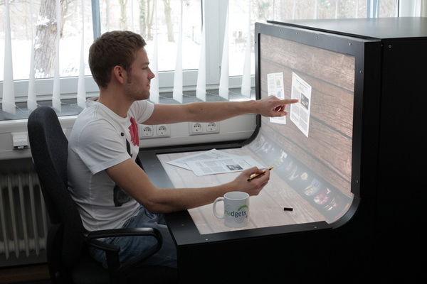 BendDesk,сенсорный рабочий стол